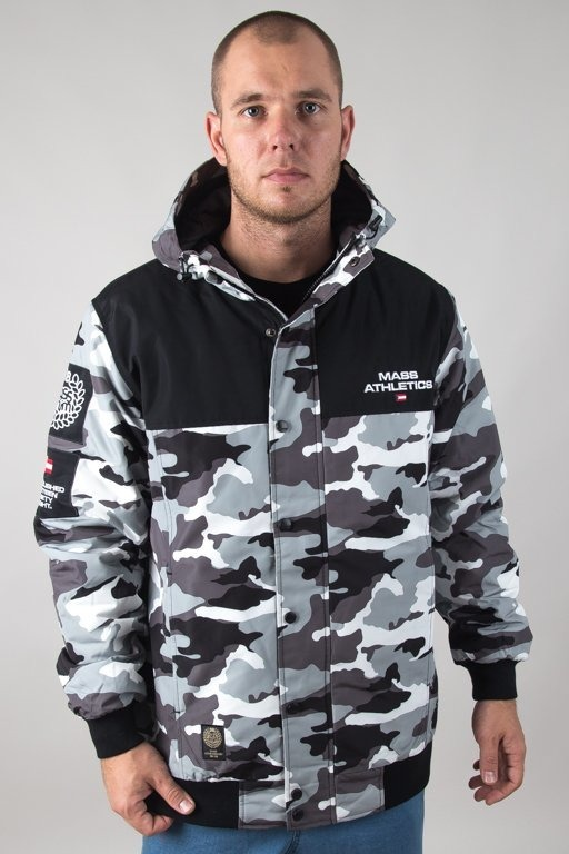 MASS WINTER JACKET REPUBLIC CAMO GREY