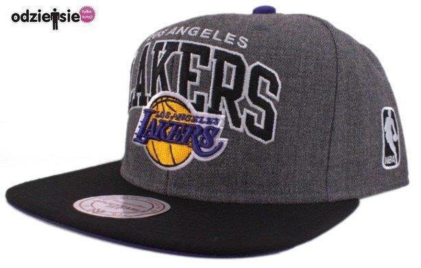 MITCHELL & NESS CZAPKA NBA SNAPBACK LA LAKERS ARCH