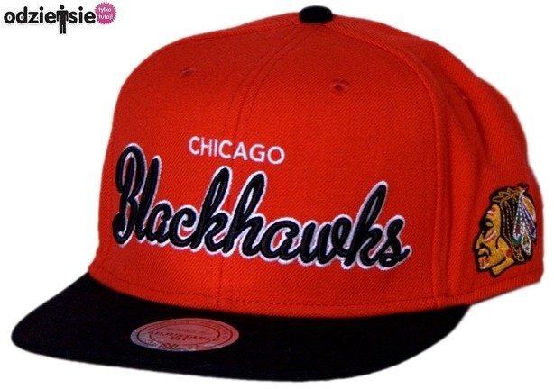 MITCHELL & NESS CZAPKA NHL SNAPBACK CHICAGO BLACKHAWKS