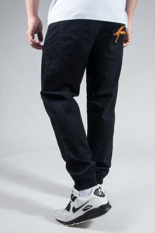 MORO SPORT PANTS CHINO JOGGER BIG PARIS BLACK