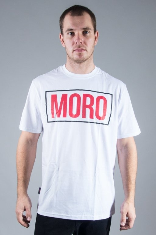 MORO SPORT T-SHIRT THE WORLD IS YOURS WHITE