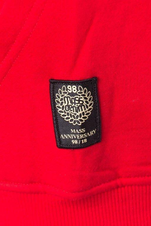 Mass Bluza Z Kapturem Base Red
