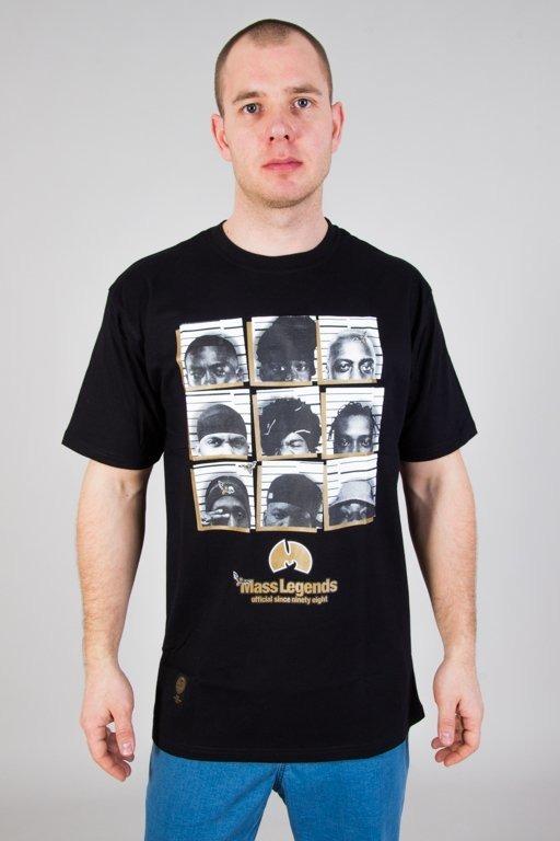 Mass Koszulka T-shirt Chapter Black
