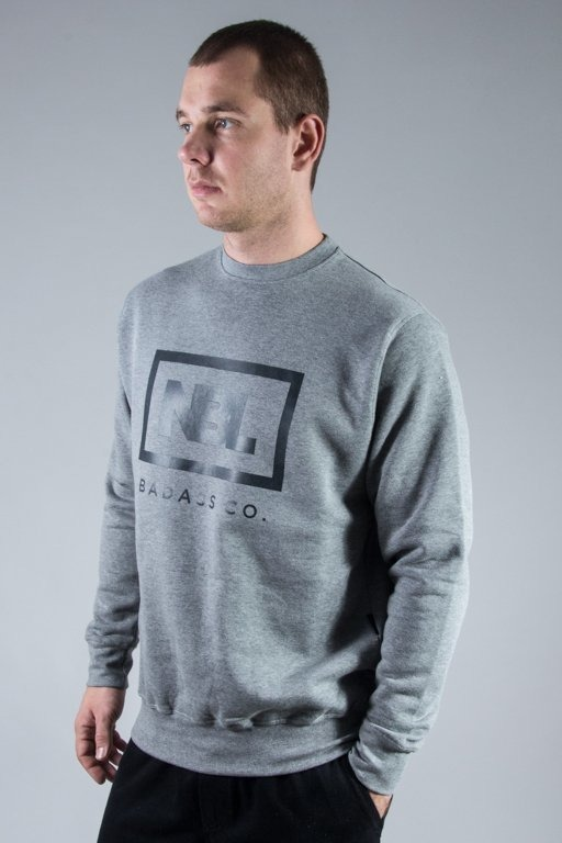 NEW BAD LINE CREWNECK ICON GREY