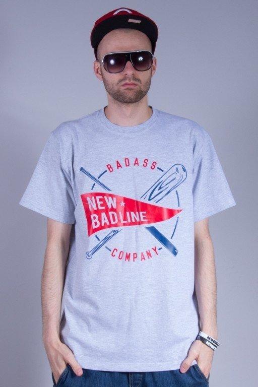 NEW BAD LINE KOSZULKA BASEBALL MELANGE