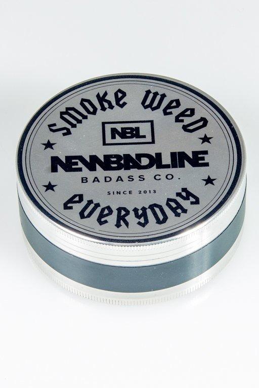 NEW BAD LINE MŁYNEK METALOWY SMOKE BIG SILVER-BLACK