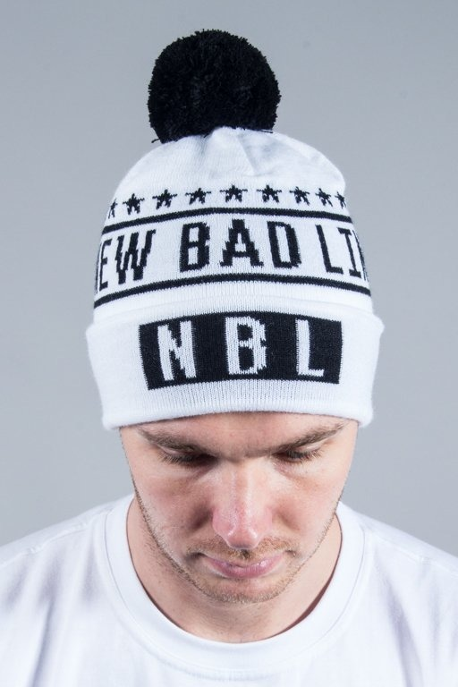 NEW BAD LINE WINTER CAP SWAG WHITE
