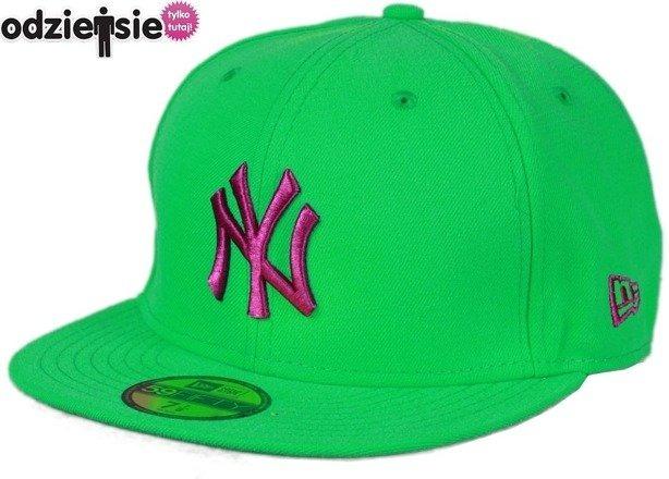 NEW ERA CZAPKA NY NEW YORK YANKEES GREEN