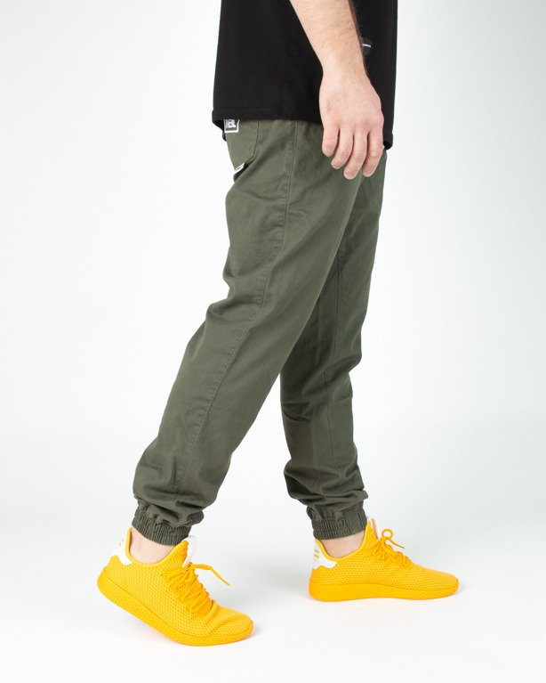 Spodnie New Bad Line Chino Jogger Icon Khaki