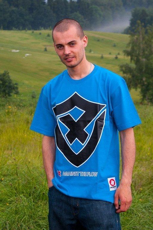 OPONENT KOSZULKA SHIELD BLUE