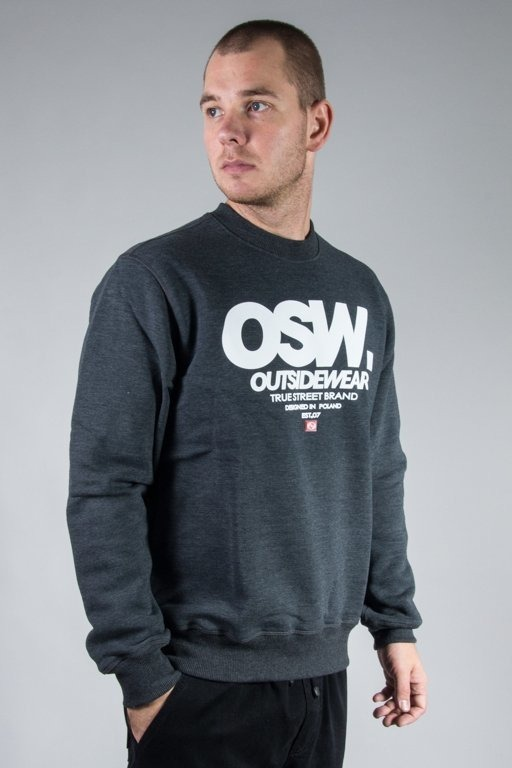 OUTSIDEWEAR CREWNECK OSW BASE GREY