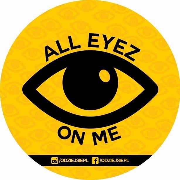 Odziejsie Vlepa All Eyez Yellow