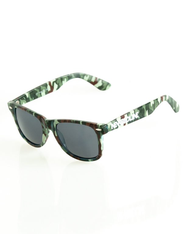 Okulary New Bad Line Classic Camo Flash 178