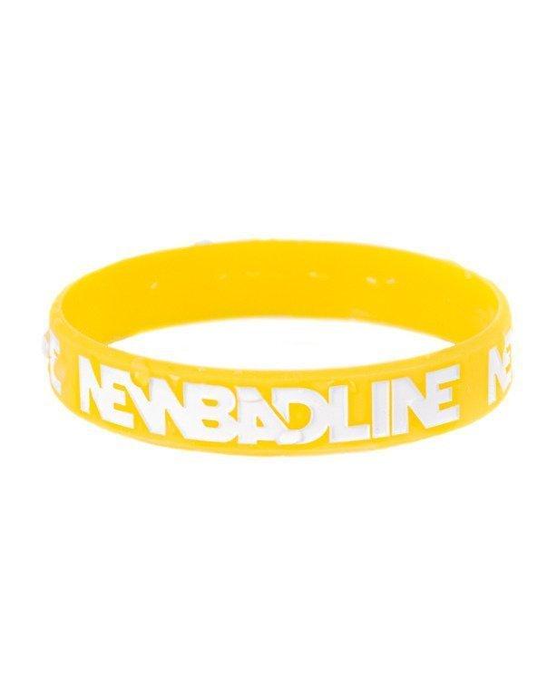 Opaska Silikonowa New Bad Line Classic Yellow