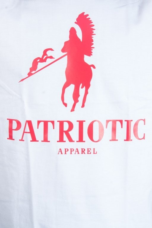 PATRIOTIC T-SHIRT HUSARZ WHITE