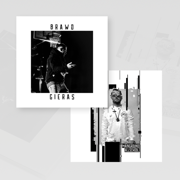 PŁYTA CD GIERAS - BRAWO + MAINGROUND ALLSCHOOL