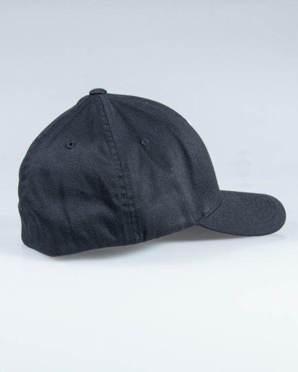 POLSKA WERSJA CAP FLEXFIT PW BLACK