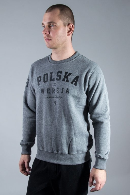 POLSKA WERSJA CREWNECK POLSKA WERSJA GREY