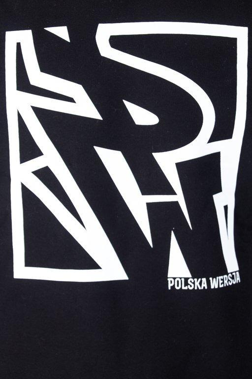 POLSKA WERSJA CREWNECK PW DO KWADRATU BLACK