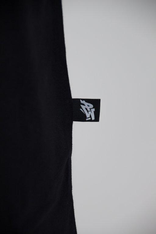 POLSKA WERSJA T-SHIRT PW OUTLINE BLACK
