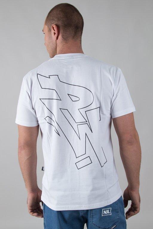 POLSKA WERSJA T-SHIRT PW OUTLINE WHITE