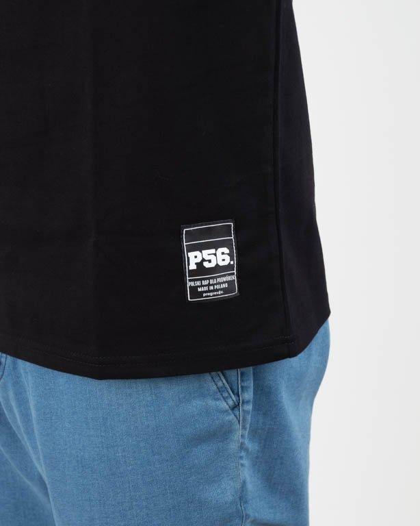 PROROK56 T-SHIRT TĘTNO BLACK