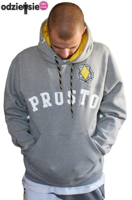 PROSTO BLUZA Z KAPTUREM ATHLETIC 2 GREY