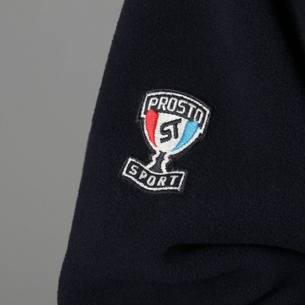 PROSTO BLUZA Z KAPTUREM POLAR ADVENTURE DARK BLUE