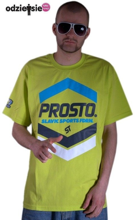 PROSTO KOSZULKA PEAK LIGHT GREEN