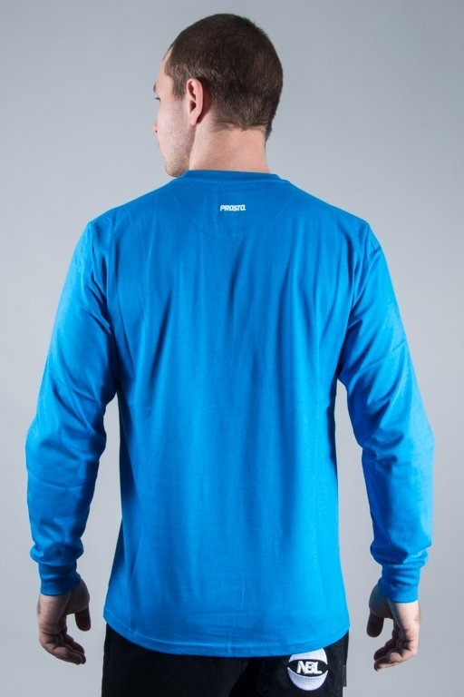 PROSTO LONGSLEEVE SHIELD BLUE
