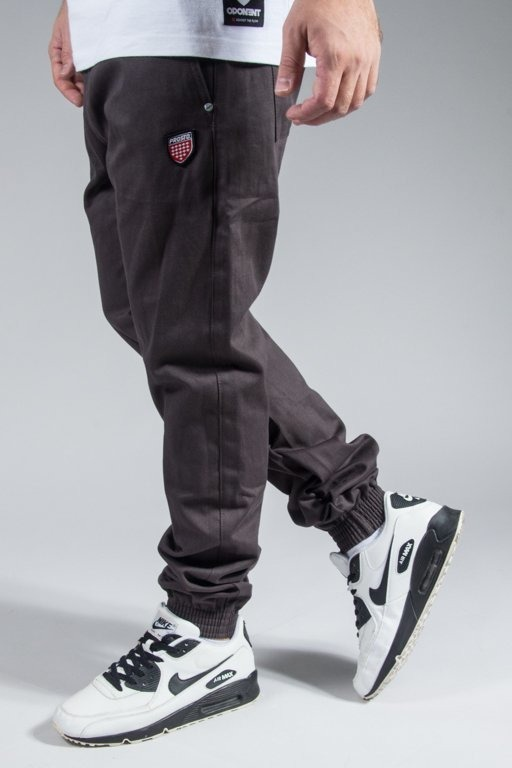 PROSTO PANTS CHINO JOGGER JOG GREY
