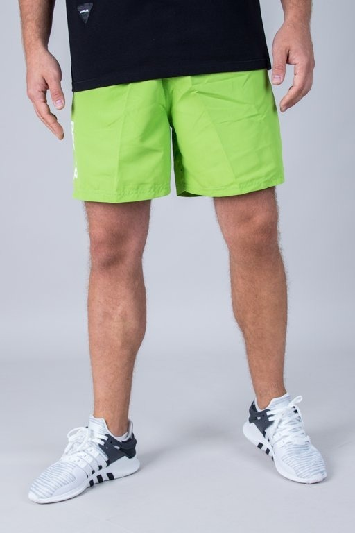 PROSTO SWIMSHORTS TROPICAL LIME GREEN