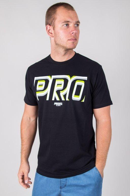 PROSTO T-SHIRT FOCUS BLACK