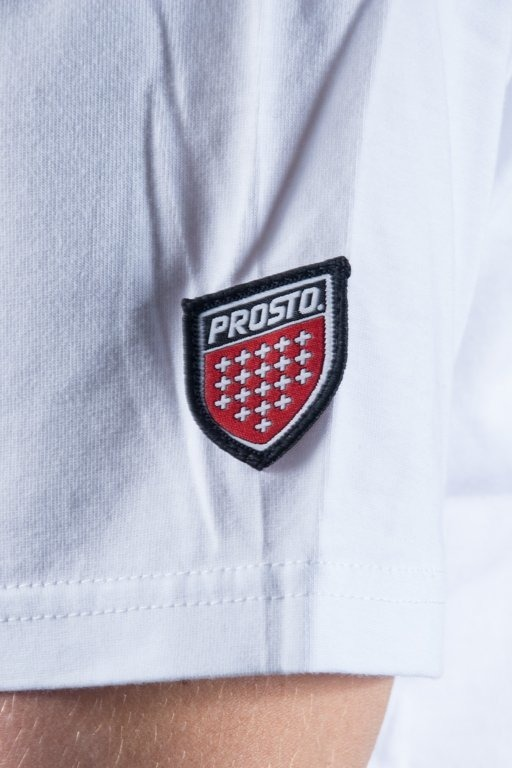 PROSTO T-SHIRT NET WHITE