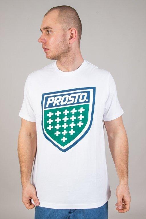 PROSTO T-SHIRT SHIELD XVIII WHITE