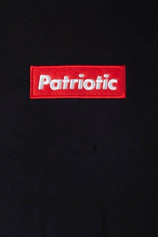 Patriotic Bluza Z Kapturem Patriprim Black