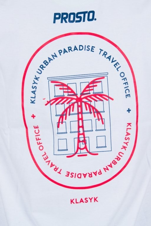 Prosto Koszulka T-shirt Travel White