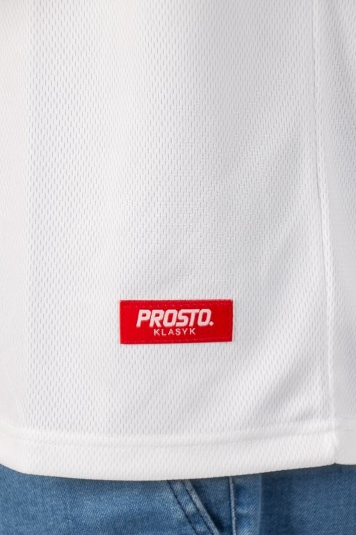 Prosto Koszulka Tank Top Play Ball White