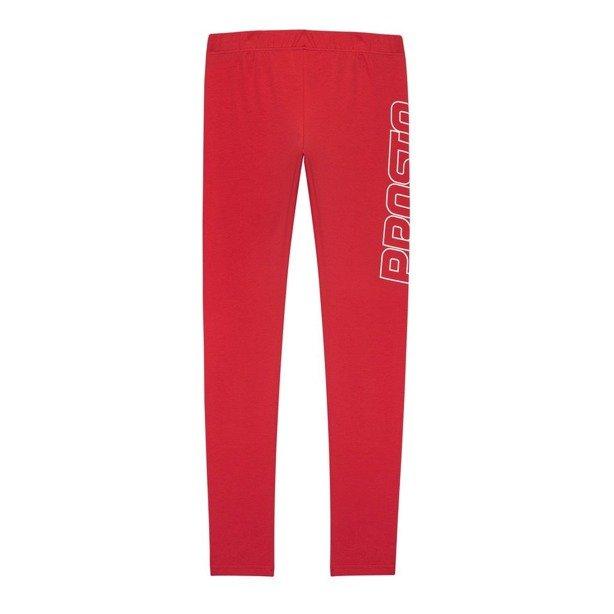 Prosto Leggins Woman Twerk Red