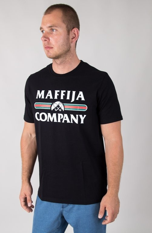 SB MAFFIJA T-SHIRT REGISTER BLACK