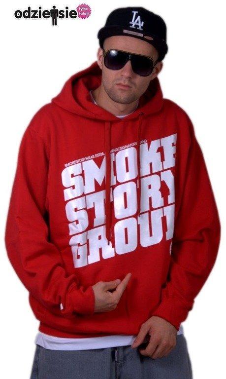 SMOKE STORY BLUZA SM GROUP RED