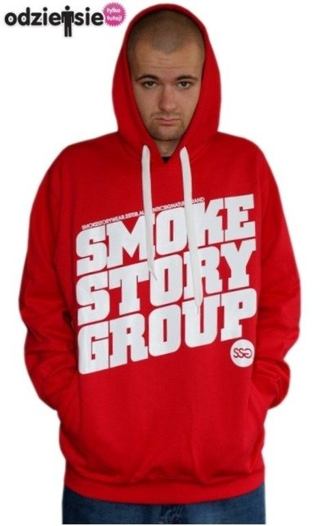 SMOKE STORY BLUZA SM GROUP RED