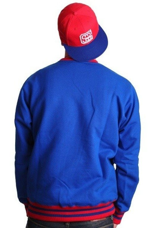 SSG BLUZA BEZ KAPTURA HORIZONTAL BLUE-RED