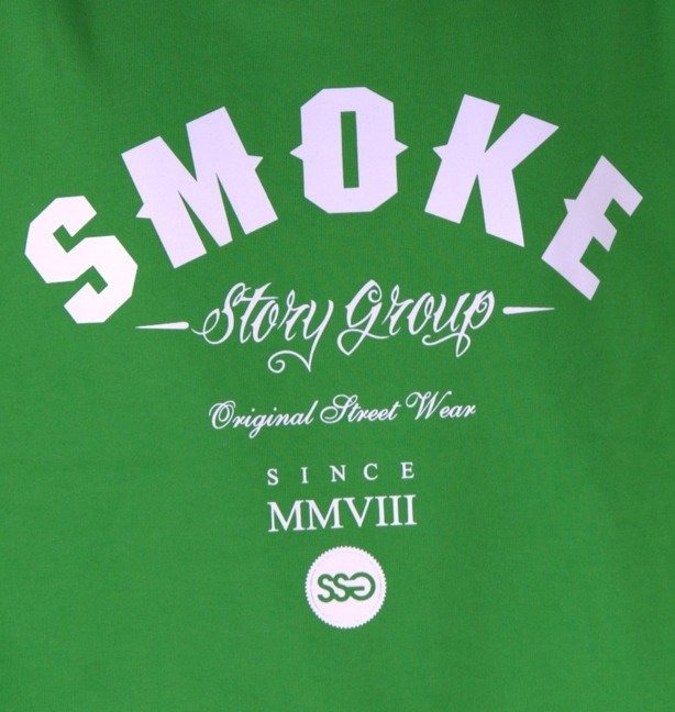 SSG BLUZA BEZ KAPTURA SMOKE GREEN