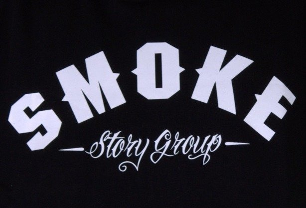 SSG BLUZA Z KAPTUREM SMOKE BLACK-GREEN