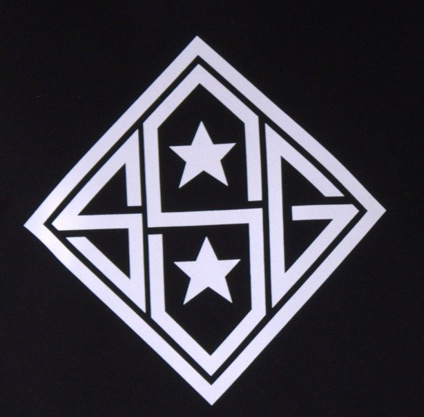 SSG BLUZA Z KAPTUREM STAR BLACK