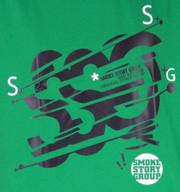 SSG KOSZULKA NEW BIG GREEN-BLACK