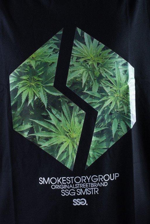 SSG KOSZULKA PLANT BLACK
