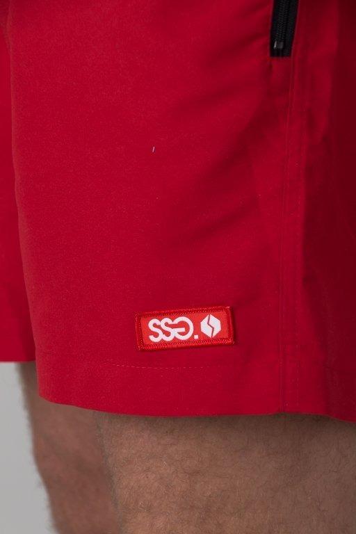 SSG SHORTS LOGO RED