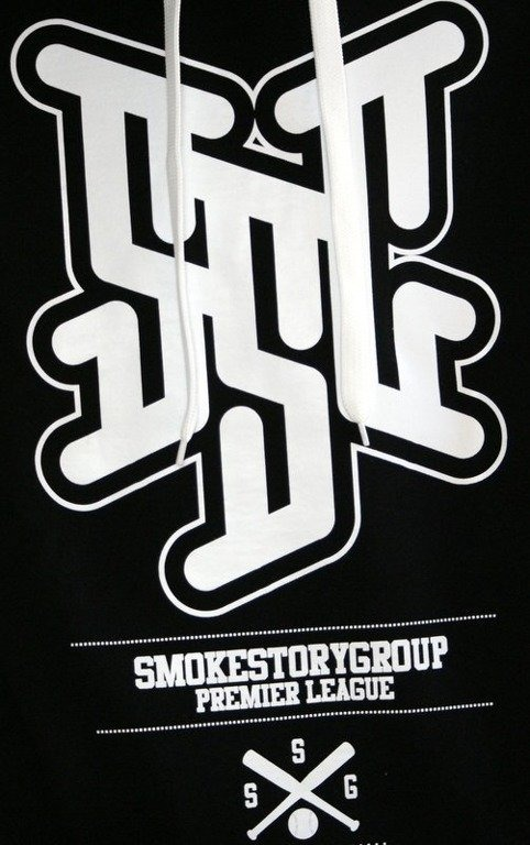 SSG SMOKE STORY BLUZA PREMIER LEAGUE BLACK
